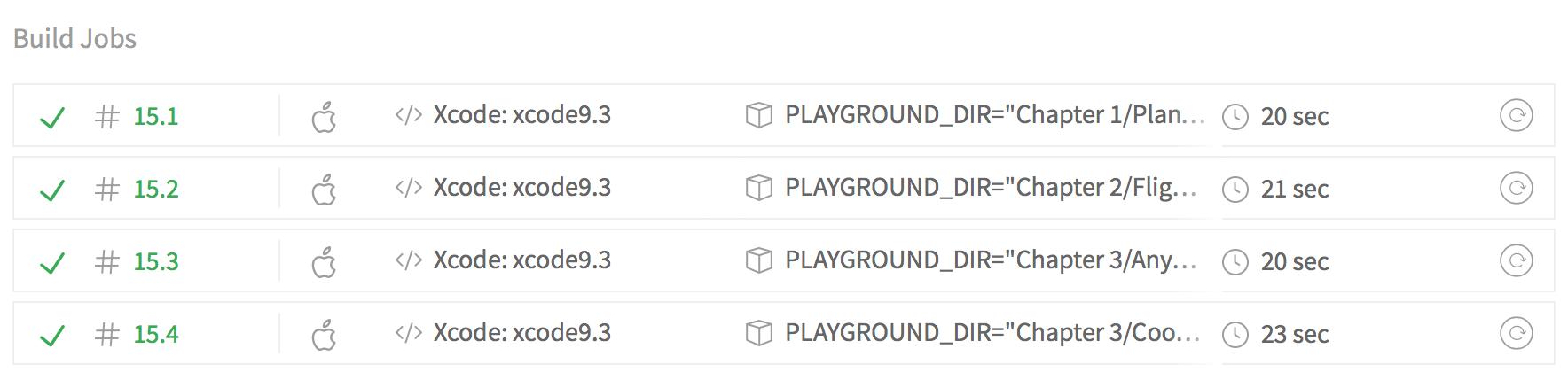 Running Xcode Playgrounds on Travis CI - Flight School